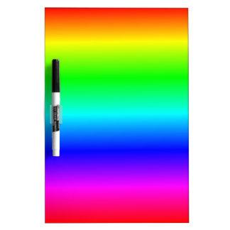 H Linear Gradient - Rainbow Dry Erase Board