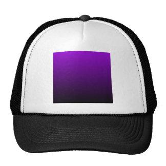 H Linear Gradient - Violet to Black Trucker Hat