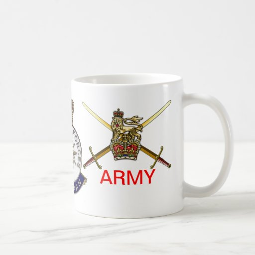 H.M. Armed Forces Veteran's Army Mug