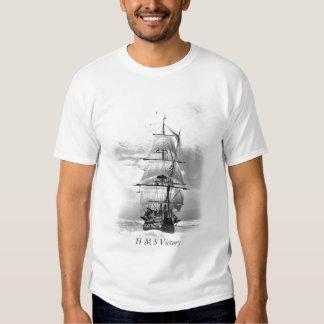 H M S Victory Tshirts