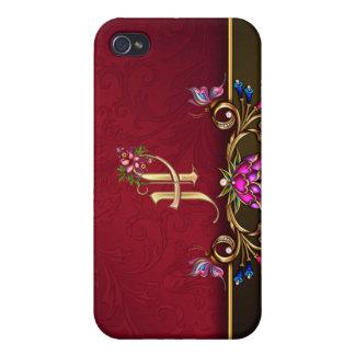 H Monogram 4  iPhone 4/4S Cover