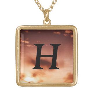 H  Monogram  Necklace
