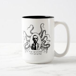 H. P. Lovecraft Mug of Doom