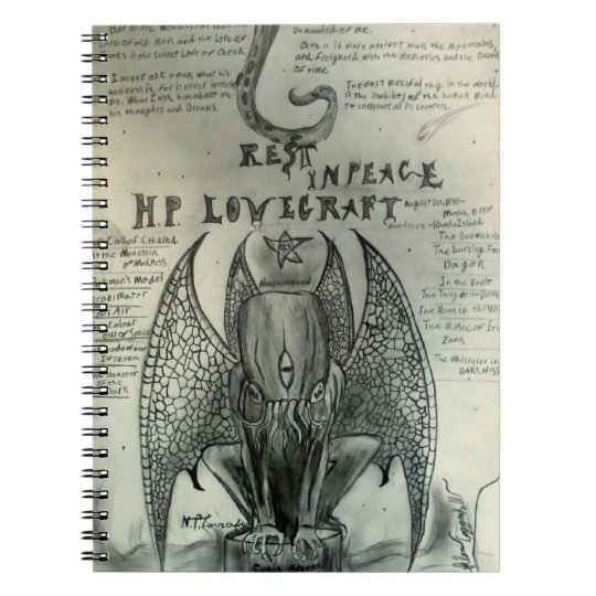 H.P. Lovecraft Notebook