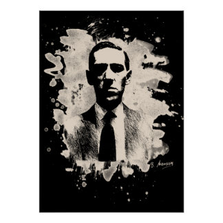 H.P. Lovecraft of tributes Poster