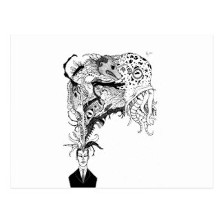 H P Lovecraft s monsters Postcards