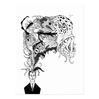 H.P. Lovecraft's monsters Post Cards
