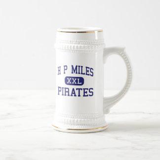 H P Miles Pirates Middle School Waco Texas Mugs