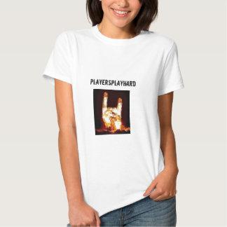 H, PlayersPlayHard Tee Shirts