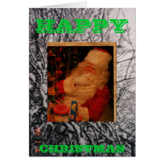 H, SC, HAPPY, CHRISTMAS GREETING CARD