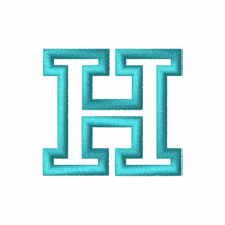 """H"" Small Athletic Letter"