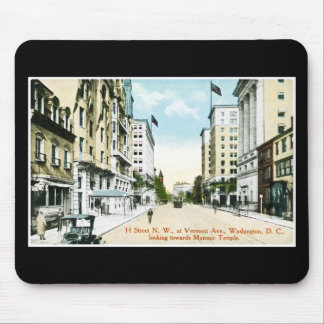 H. Street N.W. at Vermont Avenue, Washington D.C. Mouse Pad