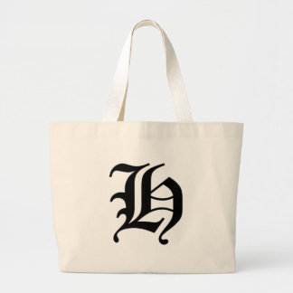 H-text Old English Large Tote Bag