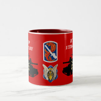 H Troop, 17th Cavalry M551 Sheridan Mug