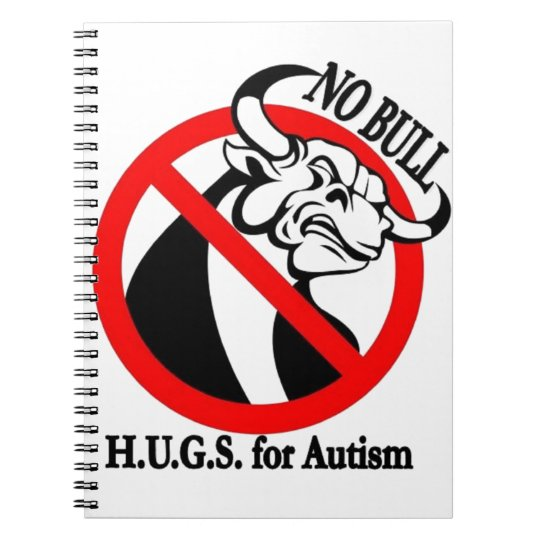 H.U.G.S. for Autism Spiral Notebook