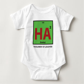 HA2 (haha) - the element of laughter Baby Bodysuit