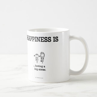 HA796 Happiness Big Sister Coffee Mug