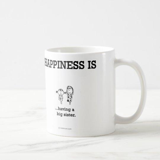 HA796 Happiness Big Sister Coffee Mug