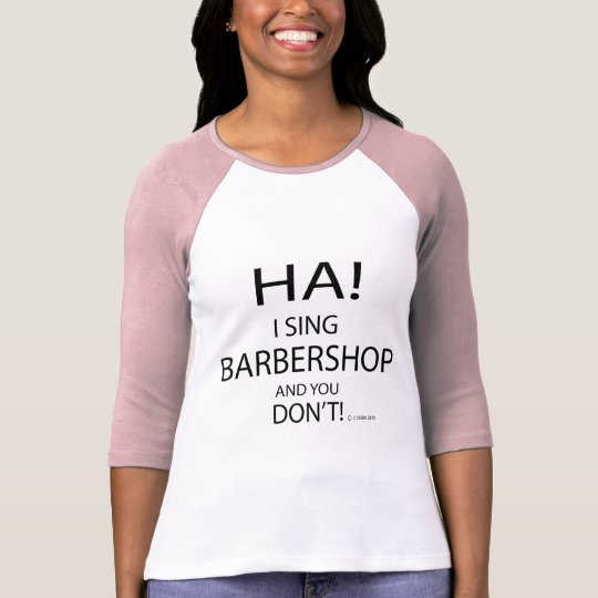Ha Barbershop T-Shirt