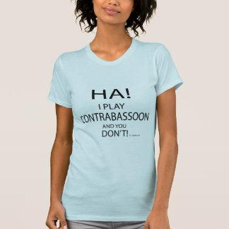 Ha Contrabassoon Tshirts