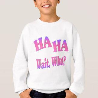 Ha Ha...Wait, What? Sweatshirt