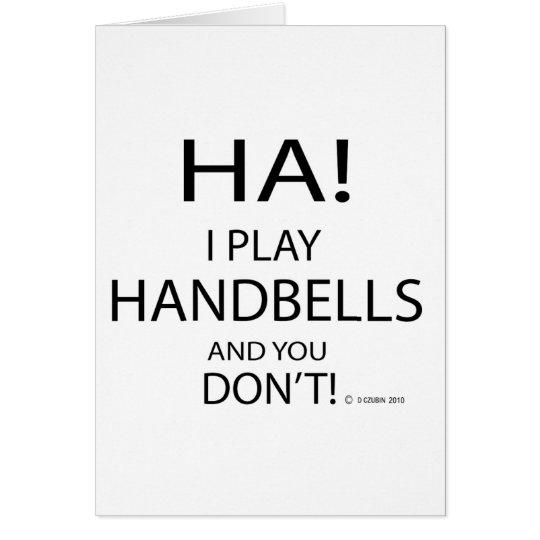 Ha Handbells Card
