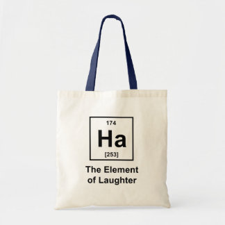 Ha The Element of Laughter Canvas Bag