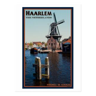 Haarlem - Adriaan Windmill Postcard