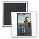 Haarlem - Adriaan Windmill Square Magnet