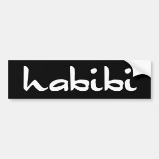 habibi bumper sticker