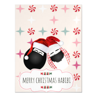 Habibi Eggs Magnet Christmas Card Magnetic Invitations