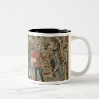 Habibullah Kahn  Emir of Afghanistan Two-Tone Coffee Mug