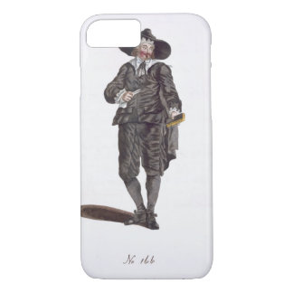 Habit of an Oliverian, 1650 (engraving) iPhone 8/7 Case