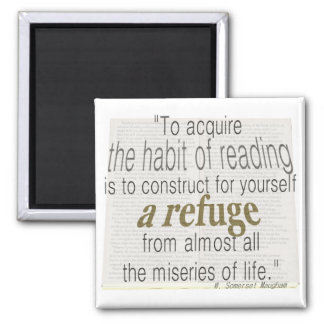 Habit of reading magnet
