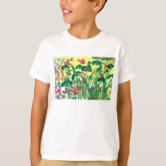 Habitat T-Shirt w Summer Critters and Flora