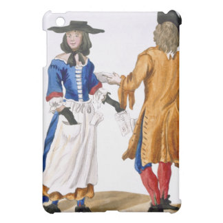 Habits of Ballad Singers, c.1675 (coloured engravi iPad Mini Covers
