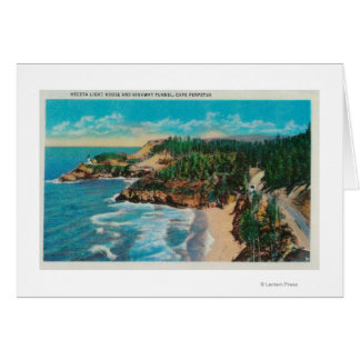 Hacenta Head Lighthouse and Cape PerpetuaCoast Card