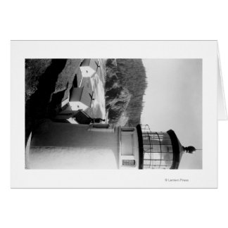 Hacenta Head Lighthouse PhotographCoast Greeting Card