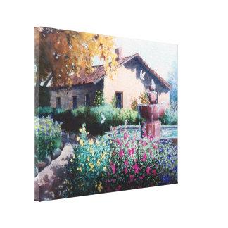 Hacienda Stretched Canvas Print