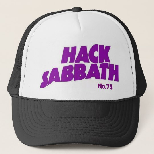 HACK SABBATH Trucker Hat