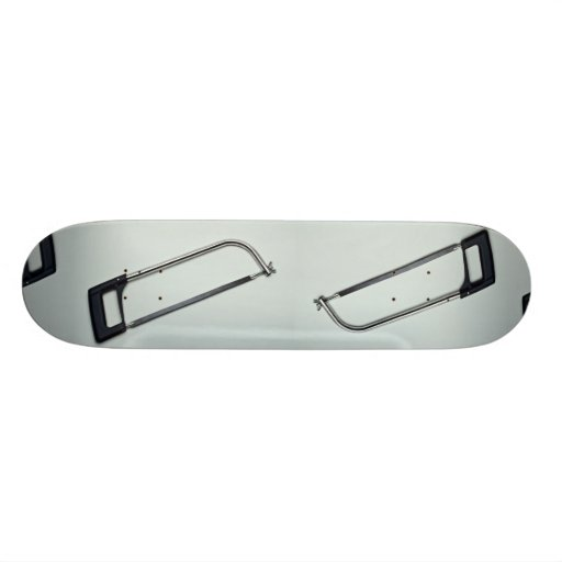 Hack saw for cutting metals skateboard deck