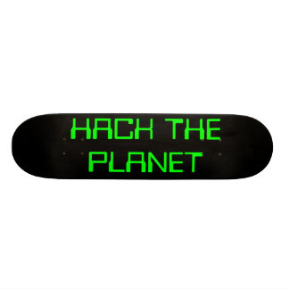 hack the planet skate boards