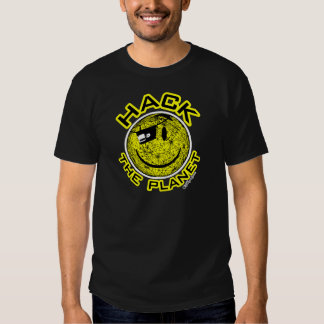 Hack the Planet T Shirts