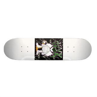 hackabstract 18.1 cm old school skateboard deck