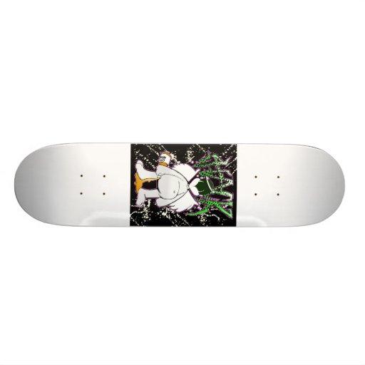 hackabstract skateboard deck