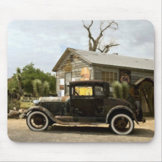 Hackberry General Store Route 66 Mouse Pad