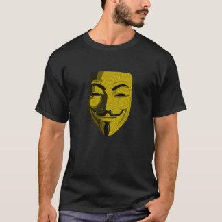 Hacker - Anonymous (round) T-Shirt