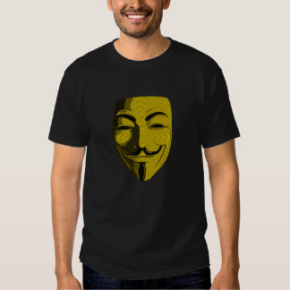 Hacker - Anonymous (round) Tees