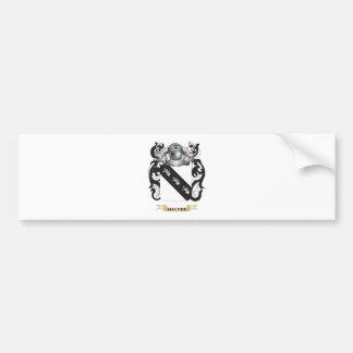 Hacker Coat of Arms (Family Crest) Car Bumper Sticker