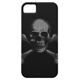 Hacker Skull and Crossbones Case For The iPhone 5